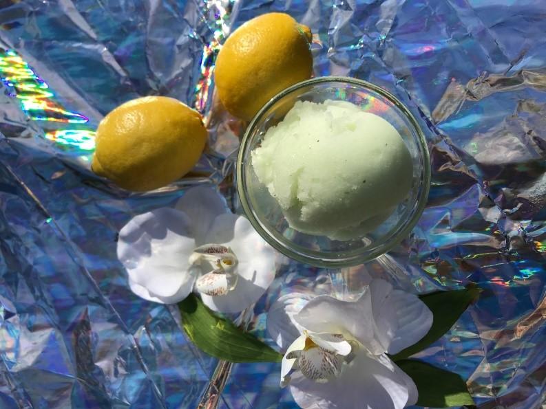 Lemon-Mint Italian Ice