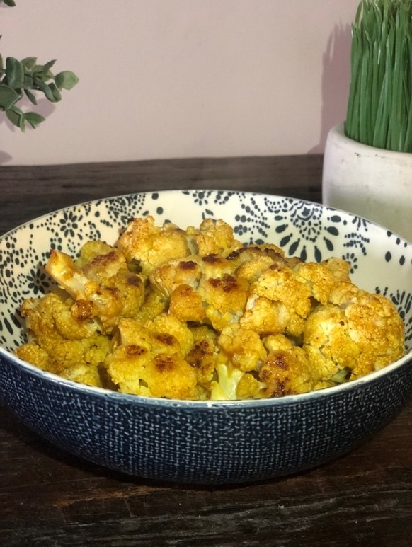 Sweet Cauliflower Bites