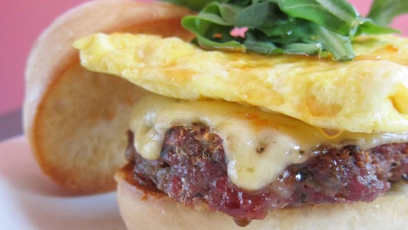 Red Pepper Breakfast Sandwich
