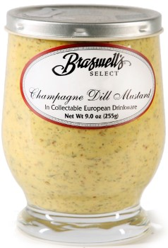 Braswell's Select Champagne Dill Mustard