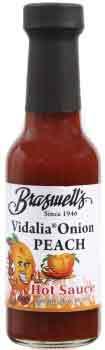 Vidalia Onion Peach Hot Sauce