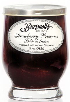 Strawberry Preserve - Footed Glassware