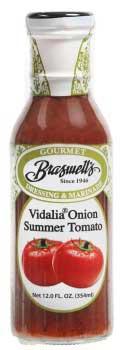 Vidalia Onion Summer Tomato Dressing - 12oz