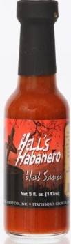 Hell's Habanero Hot Sauce