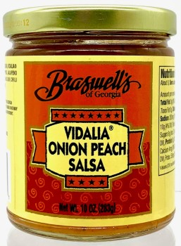 Vidalia Onion Peach Salsa
