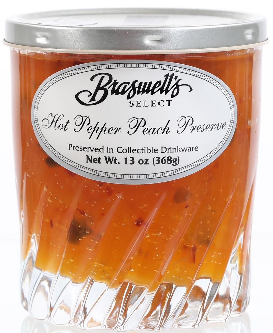 Braswell's Select Hot Pepper Peach Preserve