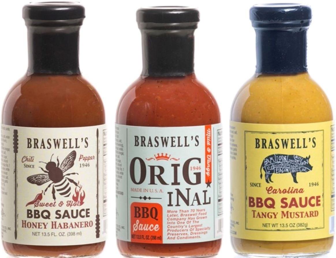 3 Flavor BBQ Sauce Assortment