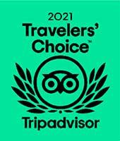 2021 Traveler's Choice TripAdvisor Award