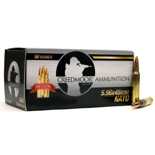 Creedmoor 5.56 NATO 75 Gr HPBT Ammunition in LC Brass 200 Ct