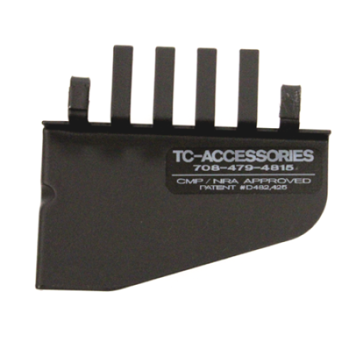 Flat Top For Detachable Carry Handle Brass Deflector