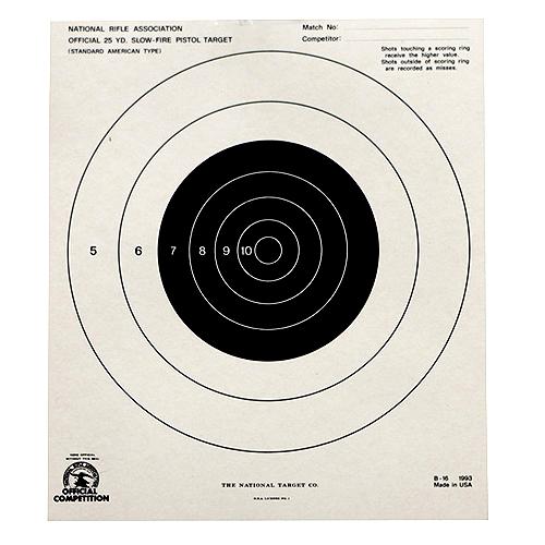 25yd Slow Fire Target