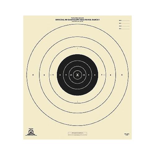 50yd Slow Fire Full Target