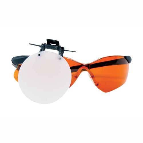 Clip-on Blank Eyepiece White