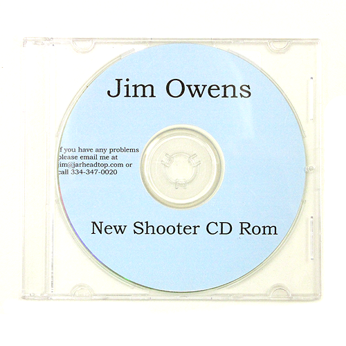 New Shooter CD-ROM Jim Owens Intro to HP