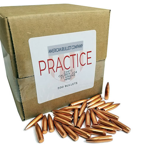 American Practice .22 Cal 77 Gr HPBT Bullets (500 ct)