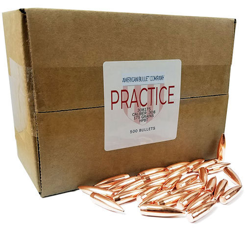 American Practice .30 Cal 175 Gr HPBT Bullets (500 ct)