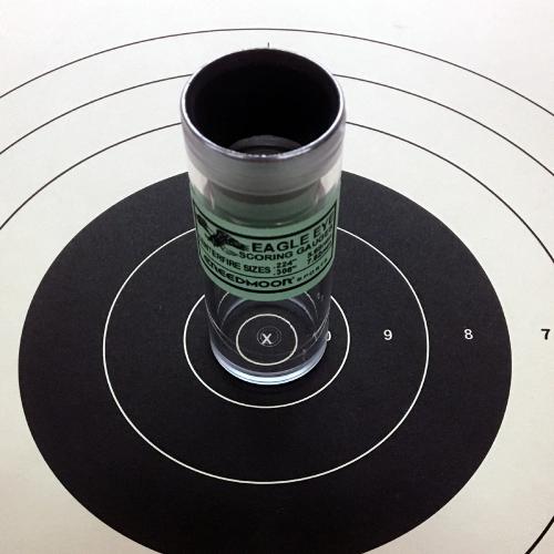 .22/ .308 Eagle Eye Precision Target Scoring Gauge