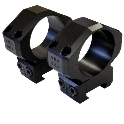 Kelbly's 34mm Picatinny Short Anodized Scope Rings