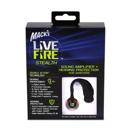 Mack's Live Fire Stealth Electronic Ear Plug