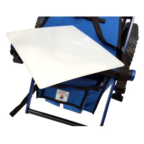 Stool White Plastic Tray