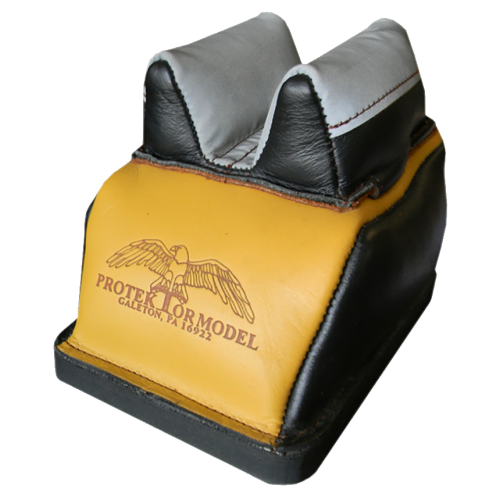 Protektor Deluxe Rear Bag Bumble-Bee Bunny Ear Leather Slick