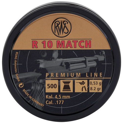RWS R10 Pellets 4.49mm 53g .177