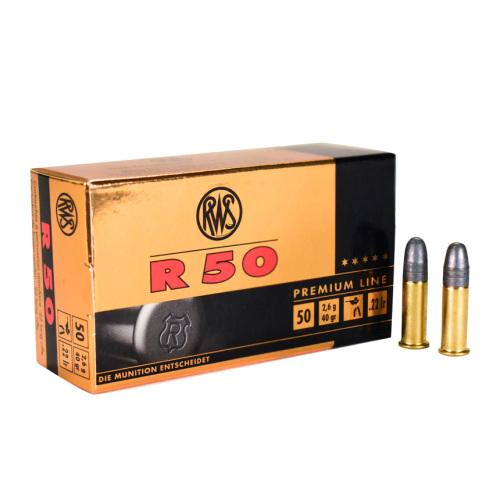 RWS .22 LR R50 Ammunition