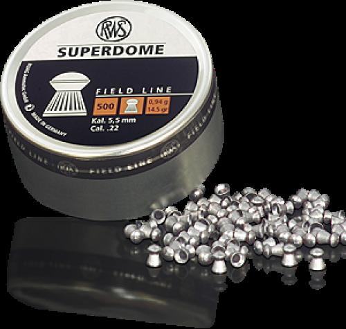 RWS Superdome Pellets 94g 5.50mm (.22cal) Fieldline