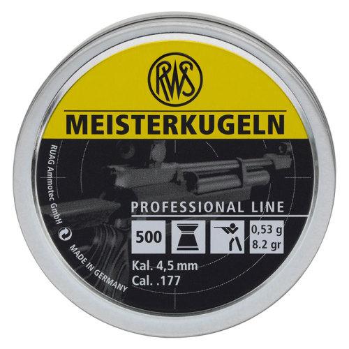 RWS Meisterkugeln Pellets 53g 4.49mm .177