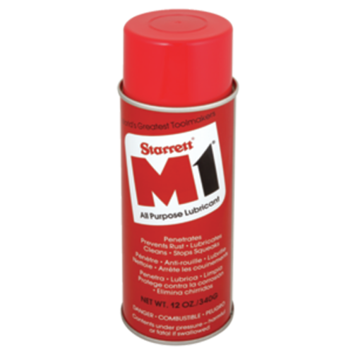Starrett M1 Oil 12 Oz Can