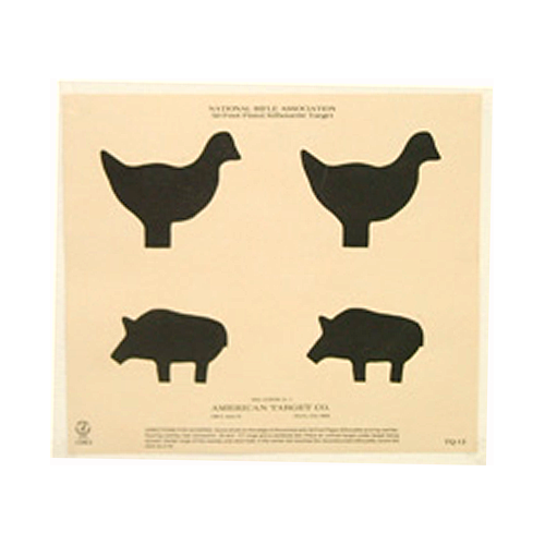 50 Ft Silhouette (chicken & Pig)