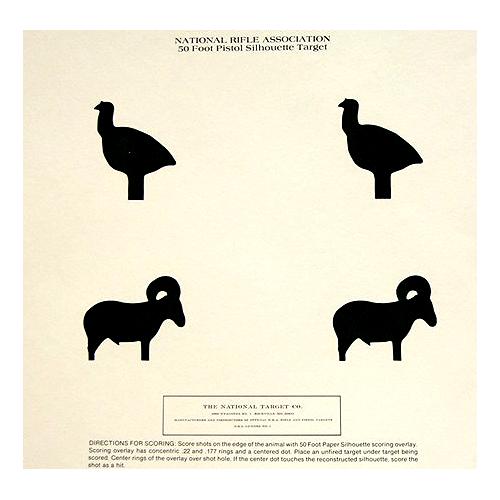 50 Ft Silhouette (turkey & Ram)