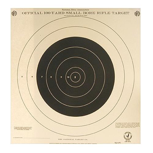 100yd Rifle 1 Bull Tq-4p