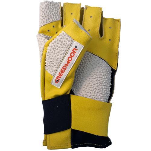 Creedmoor Open Finger Yellow/White Glove