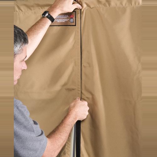 Large Curtain For Portable Air Gun Range