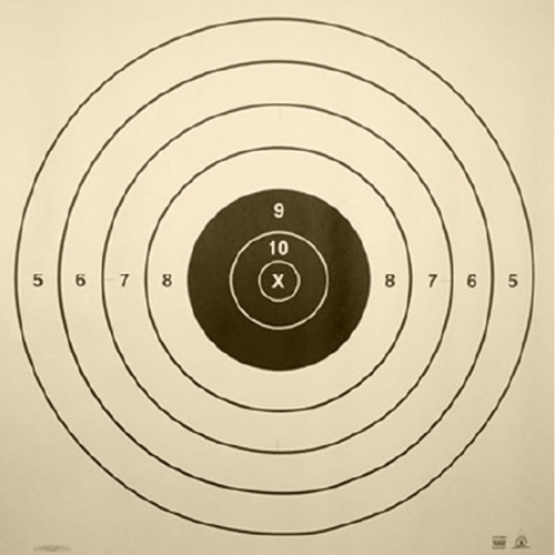 NRA 600 Yd High Power Rifle Target