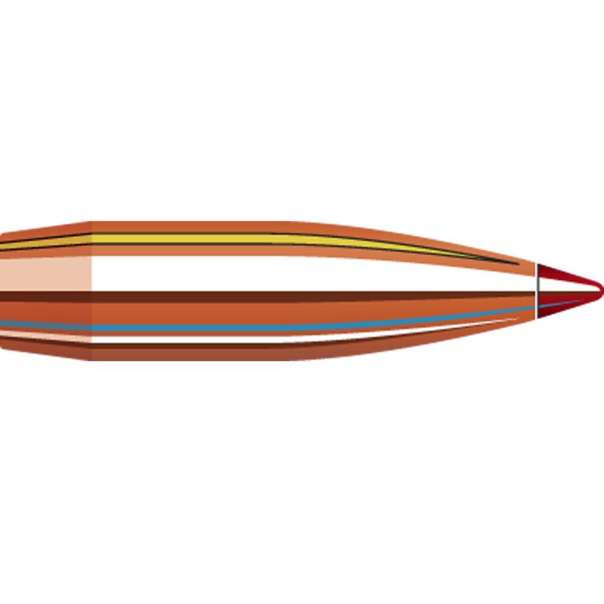 Hornady 6 5mm  264 147 Gr ELD Match Bullet (100 Ct), Bullets