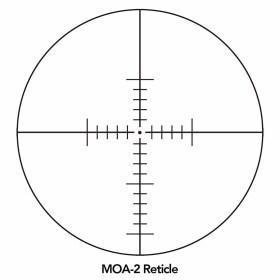 Sightron SIII Long Range 10-50x60 Side Focus MOA-1 Reticle Scope Crosshair