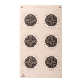 50yd (A-50 Red. 50m) Smallbore Target