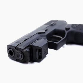Mantis X2 Shooting Performance System on Pistol