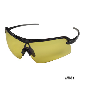 Radians Crossfire Doubleshot Shooting Glasses Amber