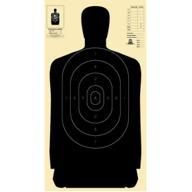 Silhouette Targets - Police Pistol 25 Yd Reduced From 50 Yd