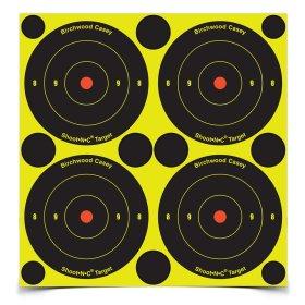 Shoot N C 3 Bull's-eye Target 12 Sheet