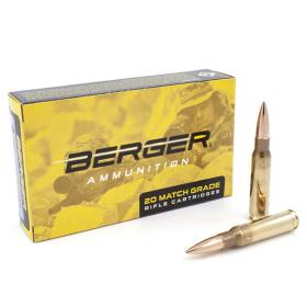 Berger 308 Winchester 175 Gr OTM Ammunition 20 ct