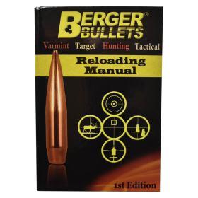 Berger Bullets Reloading Data Manual Front