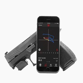 Mantis X2 Shooting Performance System Pistol and Phone