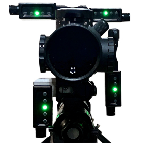 Send iT MV3 Electronic Shooting Level with Spirit Level Front View