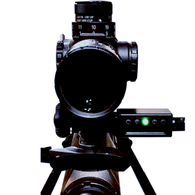 Send iT MV3 Electronic Shooting Level with Spirit Level Front View 2