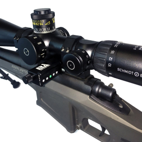 Send iT Electronic Shooting Level Mounted View