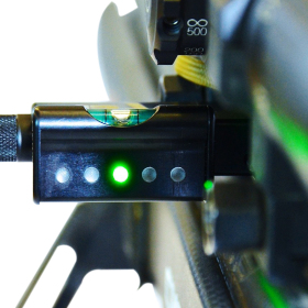 LRA Send iT Electronic Shooting Level with Spirit Level Side Mounted